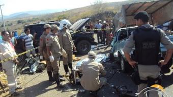 Grave acidente na região de Cajazeiras deixa um morto e dois feridos. veja!