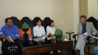 Governador da Paraíba recebe em audiência  Prefeitos recém-eleitos do Vale do Rio do Peixe. Veja!