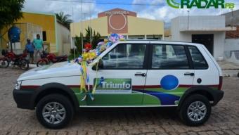 Prefeito Damísio Mangueira consegue mais um veículo para a Prefeitura de Triunfo. Veja!