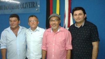 Prefeita de Poço José de Moura se articula, desmancha oposição e elege presidente da Câmra. Veja!