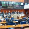 Assembleia Legislativa mantém veto do governo sobre diretrizes do orçamento 2016.