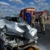 Grave acidente na BR-230 em Cajazeiras envolvendo carro de passeio e caminhão deixa eletricista gravemente ferido.