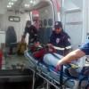 Colisão entre carro e moto deixa jovem ferido em Cajazeiras.