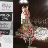 Polícia desarticula pontos de venda de drogas.