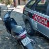 Polícia apreende moto com suspeita de clonagem na cidade de Cachoeira dos Índios.