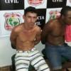Ipaumirim-CE: Dois elementos foram presos hoje no Alto Bandeirante em Ipaumirim.