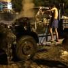 Caminhão da Prefeitura de Itaporanga pega fogo, sem explicação, ninguém ficou ferido.