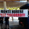 Jovens de Monte Horebe vão às ruas e pedem o fim da corrupção no município.
