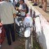 Popular Bibiu de João de Manoelzinho sofre acidente de moto na manhã desta quarta-feira em Cajazeiras.