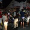 Colisão entre duas motos no centro de Cajazeiras deixa três pessoas feridas na noite desta quarta