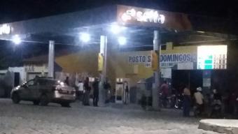 Posto de combustível é assaltado em São José de Piranhas.