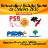 Prefeito Gervásio mostra articulação e será candidato único em Bernardino Batista.