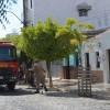 Bombeiros são acionados para apagar fogo em residência no bairro do Jardim Oásis em Cajazeiras.