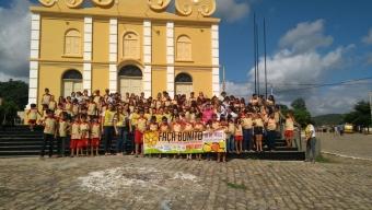 Poço Dantas realiza abertura de atividades em alusão a campanha de exploração sexual no município.