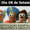 Recasdramento Biométrico começou no dia 17 passado e vai até 08 de setembro. Confira!