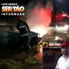 Carro de possível acusado de homicídio em Sousa é incendiado; Confira!
