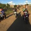 Clube de motociclistas de CZ leva sorriso e esperança para mais de 200 crianças carentes.