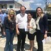 Secretária de saúde participa de evento em Campina grande com presença do ministro Ricardo Barros.