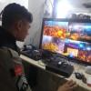 Comandante do 6º BPM acompanha trabalho de monitoramento no carnaval de Cz.