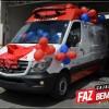 Secretaria de Saúde faz entrega de nova ambulância ao SAMU de Cajazeiras