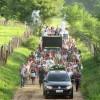 No sertão: Devotos fazem perigrinação e andam quase 10 quilômetros na primeira Romaria de São José. Videos!