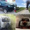No vale do Piancó: Carro de advogado pega fogo neste fim de semana.