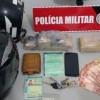 Após perseguição, polícia prende suspeito, e apreende menor de posse de mais de 2kg de maconha.