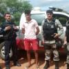 Ação em conjunto das polícias da PB e CE resulta na apreensão de drogas em Cachoeira do Índios.