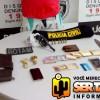 Jovem é preso com revólver em ação da polícia na cidade de Sousa. Veja!