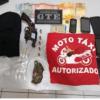 No Vale do Piancó polícia cumpre mandado de prisão e mototaxista é preso por tráfico de drogas. Veja!