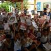 """Secretaria de Saúde de Bom Jesus realiza ações de combate ao Dengue e aposta, na competência das crianças como aliadas nesta """"guerra""""."""