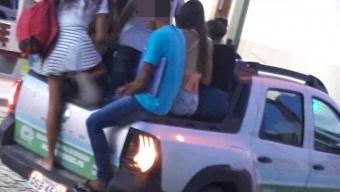 Vereador denuncia precariedade no transportes escolar de Monte Horebe. Torrado alerta para risco de tragédia. Áudio!