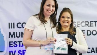 Secretária de saúde de Bom Jesus Dra. Denise participa de evento realizado pelo COSEMS. Ela foi eleita para compor direção do conselho.