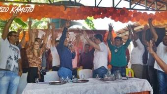 Convenção do AVANTE reforçou projeto de Rogério Leite em Santa Helena.