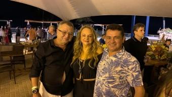 Durante aniversário de Tantan Pires, Dra. Paula ratifica apoio ao nome de Luiz Claudino para prefeito em SJRP. Veja!