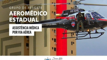 O Governo do Estado aprovou a implantação do Grupo de Resgate Aeromédico Estadual para Rede de Urgência e Emergência
