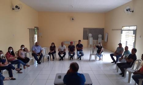 Perfeito Gervazio Gomes reune secretários e equipe para implantar plano de contingência para o COVID-19. Veja!