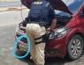 Carro com queixa de roubo circulava com parte da comitiva de um dos candidatos a prefeito da cidade Bom Jesus