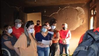 Na hora que mais precisa: Prefeitura Municipal acolhe famílias atingidas por incêndio no Residencial Cajazeiras