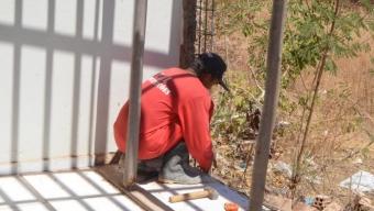 A todo vapor: Prefeitura intensifica obra em unidade de saúde âncora em Cajazeiras Velha