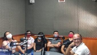 Entrevista de despedida do Prefeito de Poço Dantas Dedé Cândido emociona secretários, vereador e diretor da emissora. Veja!