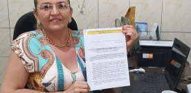 Em Ipaumirim: presidenta do SINSERMI confirma que já protocolou pauta da campanha salarial. Terezinha pede diálogo e não descarta posição rígida, ouça!