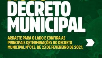Após reunião com secretários, Prefeito Itamar Moreira Baixa novo Decreto para combater o coronavirus em Poço Dantas. Veja!