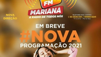Competência em gestão: Em apenjas 60 dias à frente da Mariana FM,  Silvano Dias leva emissora ao 1º lugar na preferencia dos triunfenses