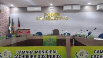 Internautas parabenizam presidente por investimentos na câmara de vereadores em Cachoeira dos Índios