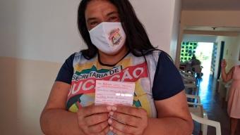 Em Bom Jesus: Secretaria de Saúde começa Imunização dos professores da rede municipal de ensino