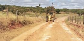 Começou: Prefeita Denise Bayma determina a recuperação das estradas vicinais