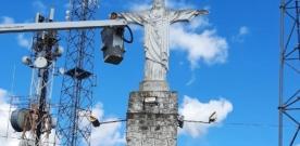 Estátua do Cristo Rei completa 82 anos e Prefeitura investe em revitalização do marco histórico e turístico de Cajazeiras
