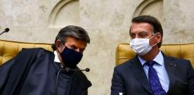 Crise institucional: Bolsonaro renova ataques ao STF, Fux reage