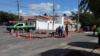 Mobilidade urbana: prefeitura de Cajazeiras inicia mudanças na Francisco Matias Rolim